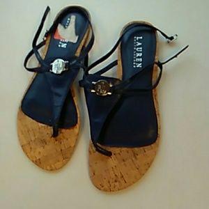 Lauren Ralph Lauren navy blue sandals